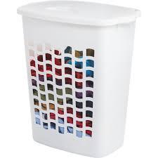 contemporary laundry hamper rubbermaid clothes hamper fg2656tpwht do it best