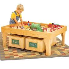 diy folding train table 52 kids play table wood 3 piece wood kids table and chair set in
