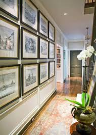 decorating a long wall 25 best hallway walls make your hallways as beautiful as the rest