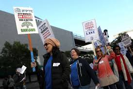 How To Raise An Outdoor Spigot Home Guides Sf Gate Oakland Workers Suspend Strike U2014 But No Contract In Place Sfgate