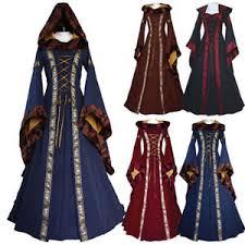 women halloween costume wench victorian renaissance dress witch