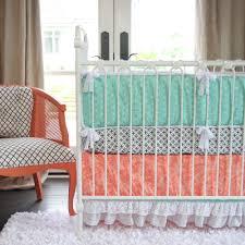 Monkey Bedding Set Snuggle Baby Mint Green Crib Bedding Set Stiiasta