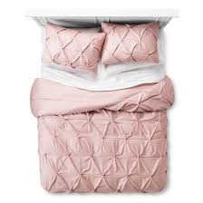 pinch pleat duvet cover u0026 sham set threshold target