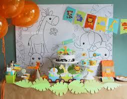 kara u0027s party ideas 01 printable jungle lion animal safari birthday