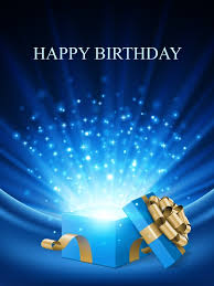 happy birthday wishes greeting cards free birthday blue present free birthday cards to try in 2015