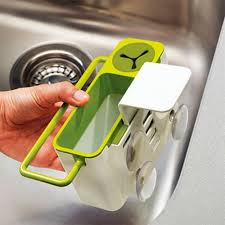Suction Sponge Holder Sink by Kitchen Tidy Stand Suction Cup Base Brush Sponge Sink Draining