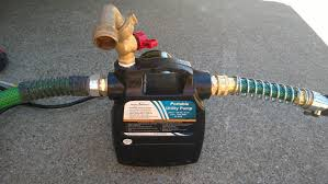 travel trailer water pump ibc tote u2013 recycledh2o