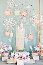 How To Make Winter Wonderland Decorations Kara U0027s Party Ideas Winter Wonderland Snow 1st Birthday Party
