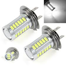Led Light Bulbs For Headlights by 2x Car Led H7 12w 12v Bulb Super Xenon White Fog Lights High Power