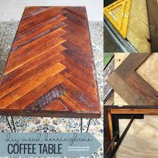 diy wood and metal coffee table congresos pontevedra residential