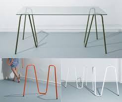 tables better living through design sinus trestle desk work better living through design dining