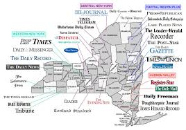 Hudson Valley New York Map by Adnet New York Display Advertising New York News Publishers