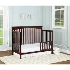 Dream On Me 5 In 1 Convertible Crib by Dream On Me Davenport 5 In 1 Convertible Crib Java Walmart Com