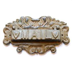 Rustic Iron Mail Slot Outdoor - 395 best mailboxes etc images on pinterest mail boxes letter