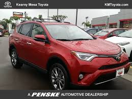 toyota limited 2017 new toyota rav4 limited fwd at kearny mesa toyota serving