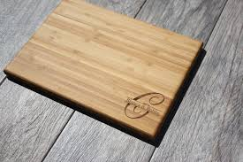 engraved cutting boards initial monogram cutting board our cutting board