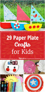 29 paper plate crafts for kids tip junkie