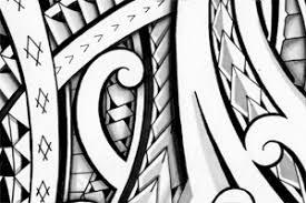 polynesian halfsleeve tribal design