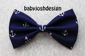 bows for hair navy anchor fabric hair bow for or womengirls hair