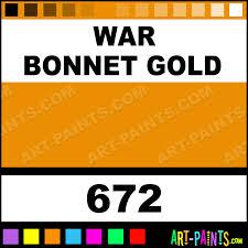 war bonnet gold pigment tattoo ink paints 672 war bonnet gold