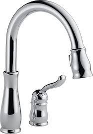 delta signature kitchen faucet chrome single handle pull out hd delta 978 dst leland single handle pull kitchen faucet with