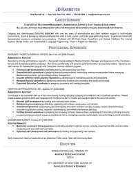 Resume Template For Medical Assistant The 25 Best Administrative Assistant Resume Ideas On Pinterest