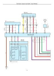 2009 corolla radio wiring diagram wiring diagrams