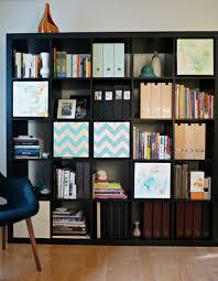 Swinging Bookcase Artful Expedit Ikea Hackers Ikea Hackers
