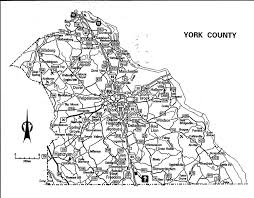 road map of york manordiggeschoice html