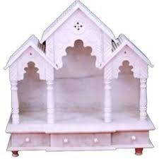 Marble Temple Home Decoration Marble Mandir Makrana Marble Home Temple Manufacturer From Hyderabad