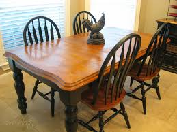 kitchen table refinishing ideas cozy dining table concept together with curb alert my kitchen