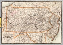 Map Of Pennsylvania by Barnes U0027s Map Of Pennsylvania David Rumsey Historical Map Collection