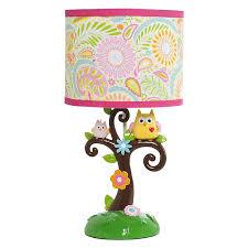 Nursery Table Lamps Amazon Com Lambs U0026 Ivy Dena Happi Tree Lamp With Shade And Bulb