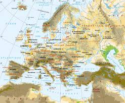 Map Of Europe Countries Www Mappi Net Maps Of Continent Europe