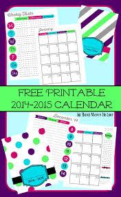 free printable 2015 planner busy mom u0027s helper