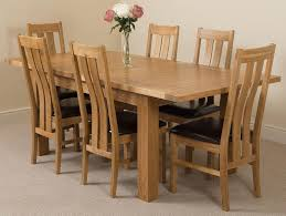 seattle dining set with 6 princeton chairs oak furniture king