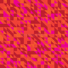 different shades of red vector illustration of a seamless pattern of simple triangles in