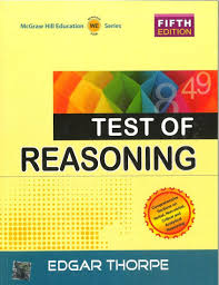 buy test of reasoning book online at low prices in india test of