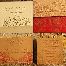 Indian Wedding Invitations Chicago Atiya Joseph U0027s Indian Inspired Invitations Invitation Crush