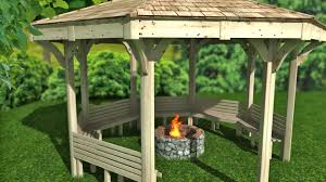 Gazebo Fire Pit by Fire Pit Shelter U0026 Outdoor Classroom U2022 The Hideout House Company