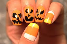 Halloween Nail Art Pumpkin - nail ideas pumpkin nail art picture inspirations designspumpkin