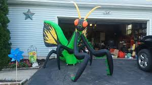 halloween inflatable new for 2017 halloween inflatable 10 5ft wide preying mantis