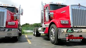 kenworth dealer kenworth of canton twin w900 trucks 204010r youtube