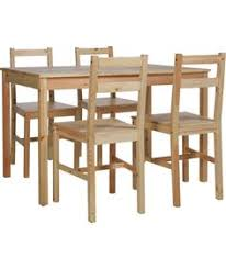 argos kitchen furniture 129 99 buy richmond solid pine table and 4 chairs at argos co uk