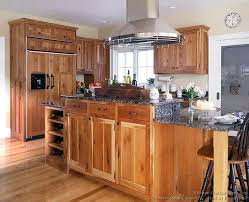 Delighful Light Cherry Kitchen Cabinets Photo Gallery With Dark - Light cherry kitchen cabinets