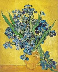 How To Paint A Flower Vase Vincent Van Gogh The Paintings Still Life Vase With Irises