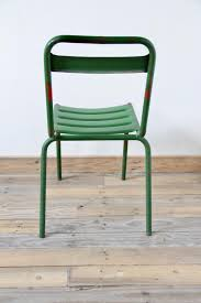 Vintage Bistro Chairs Vintage Green Metal Bistro Chairs Set Of 4 For Sale At Pamono