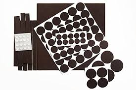 our house furniture pads with durable self stick adhesive felt