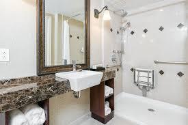 ada compliant bathroom bathroom contemporary with beige countertop