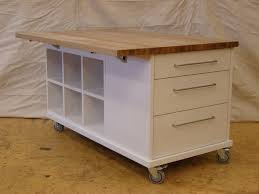 kitchen islands with wheels kitchen island on casters home design ideas and pictures